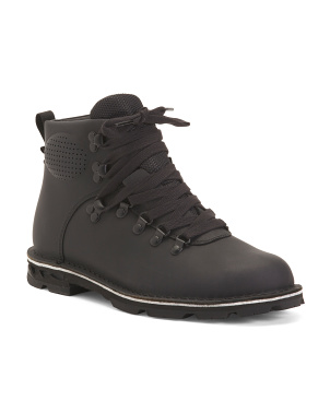 Waterproof Full Grain Leather Boots