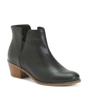 Leather Side Gore All Day Comfort Booties