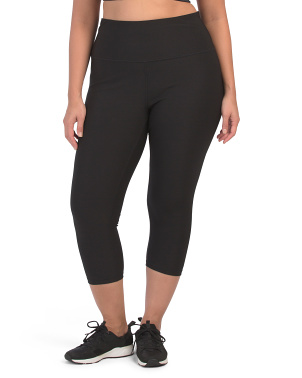 Plus Active High Rise Capris
