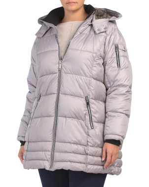 Plus Microtech Snow Chic Puffer Jacket