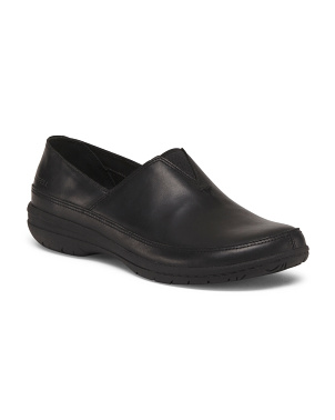 Full Grain Leather Comfort Flats
