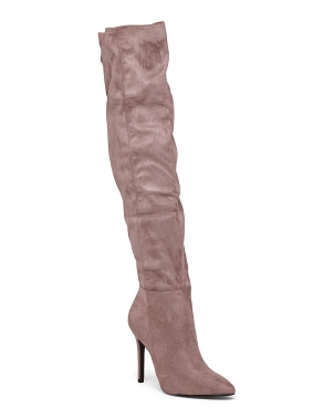 Over The Knee Pointy Toe Boots