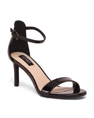 One Band Ankle Strap Pumps