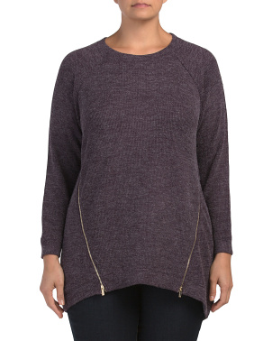 Plus Rowan Pullover Sweater