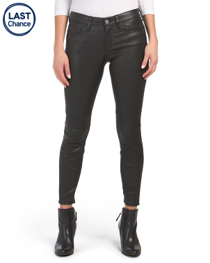 The Stiletto Leather Skinny Pants