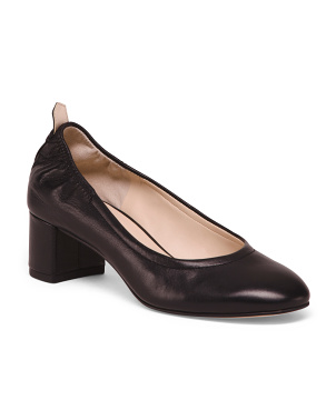Leather All Day Comfort Pumps