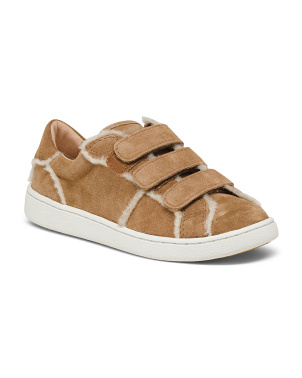 Shearling Suede Sneakers