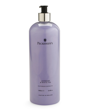 33.8oz Lavender White Tea Shower Gel