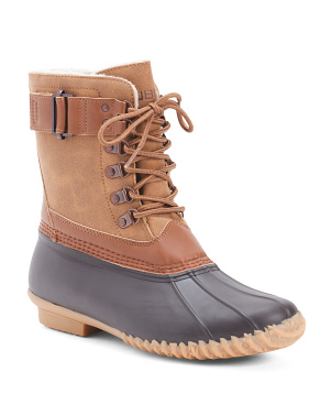 Weather Ready Comfort Duck Boots