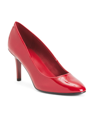 High Heel Patent Pumps