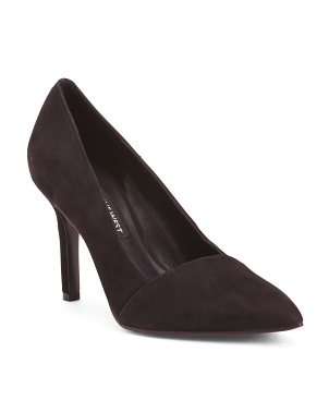 Pointy Toe Suede Pumps